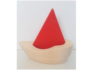 Wooden sailboat 12
