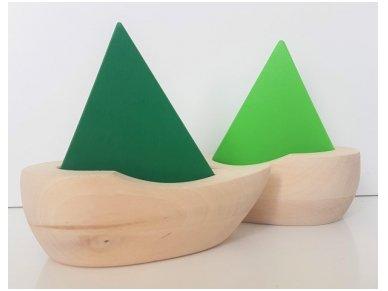 Wooden sailboat 11